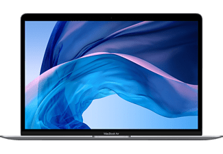 APPLE MVH22D/A MacBook Air, Notebook mit 13,3 Zoll Display, Intel® Core™ i5 Prozessor, 8 GB RAM, 512 GB SSD, Intel Iris Plus Graphics, Space Grau