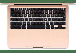 APPLE MWTL2D/A MacBook Air, Notebook mit 13,3 Zoll Display, Core™ i3 Prozessor, 8 GB RAM, 256 GB SSD, Intel Iris Plus Graphics, Gold