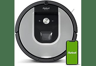 Robot aspirador - iRobot Roomba 965, Sistema de limpieza, AeroForce, Dirt Detect, WiFi, Gris