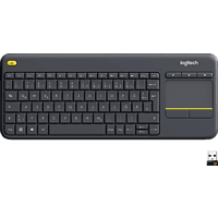 LOGITECH K400 Plus Touch Wireless, Tastatur