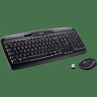 LOGITECH MK330, Tastatur-Maus Set, Schwarz