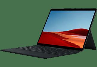 MICROSOFT Surface Pro X - Q2 16GB/256GB, Convertible mit 13 Zoll Display, SQ2™ Prozessor, 16 GB RAM, 256 GB SSD, Microsoft SQ2 Adreno™ 690, Schwarz