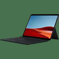 MICROSOFT Surface Pro X - Q2 16GB/512GB, Convertible mit 13 Zoll Display, SQ2™ Prozessor, 16 GB RAM, 512 GB SSD, Microsoft SQ2 Adreno™ 690, Schwarz