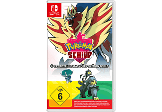 Pokémon Schild + Erweiterungspass - [Nintendo Switch]