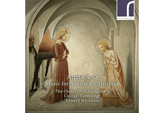 Edward/the Choirs Of St Catharines College Wickham - ALPHA And O MUSIC FOR ADVENT And CHRIST  - (CD)