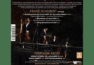 Quatuor Arod - DEATH AND THE MAIDEN  - (CD)