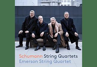 Emerson String Quartet - Streichquartette 1-3  - (CD)