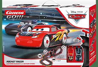 CARRERA (TOYS) Disney Pixar Cars - Rocket Racer Rennbahn, Mehrfarbig