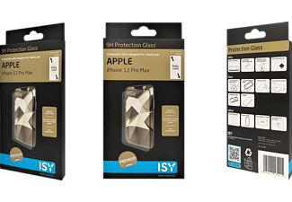 ISY IPG 5099-2.5D Displayschutzglas(für Apple iPhone 12 Pro Max)
