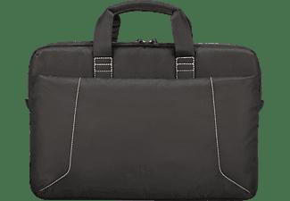 ISY INB-1564 Notebook Tasche Umhängetasche für Universal 100% Polyester, Schwarz