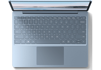 MICROSOFT Surface Laptop Go, i5-1035G1, 8GB RAM, 256GB SSD, 12.4 Zoll Touch, Eisblau (THJ-00027)