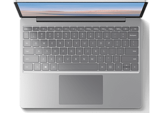 MICROSOFT Surface Laptop Go, i5-1035G1, 4GB RAM, 64GB eMMC, 12.4 Zoll Touch, Platin (1ZO-00005)