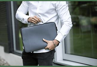 ISY INB-1113 Notebookhülle Sleeve für Universal Polyester, Grau
