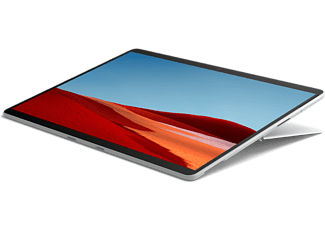 MICROSOFT Surface Pro X, SQ2, 16GB RAM, 256GB SSD, 13 Zoll Touch, LTE, Platin (1WT-00003)