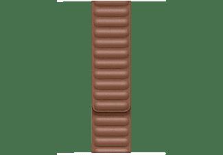 APPLE 44 mm Lederarmband mit Endstück , Ersatzarmband, Apple, Sattelbraun