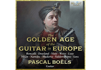 Pascal Boels - THE GOLDEN AGE OF THE GUITAR IN EUROPE  - (CD)