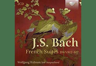 Rübsam Wolfgang - J.S. BACH: FRENCH SUITES BWV812-817  - (CD)