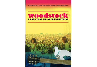 Woodstock: 3 Days That Changed Everything DVD