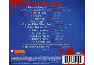 Frank Zappa - Halloween 81  - (CD)