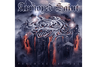 Armored Saint - Punching The Sky (clear purple white marbled)  - (Vinyl)