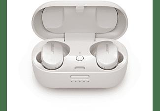 Auriculares inalámbricos - Bose QuiteComfort, 6h, Resistencia IPX4, Control táctil, Bluetooth, Blanco