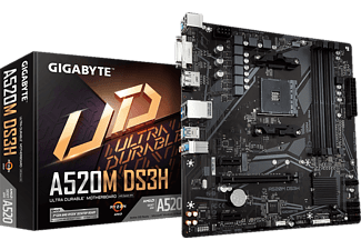 GIGABYTE A520M DS3H - Mainboard