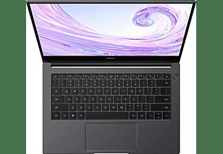 HUAWEI MateBook D 14 AMD, 5-3500U, 8GB RAM, 256GB SSD, 14 Zoll FHD, Space Grey (53010XRK)