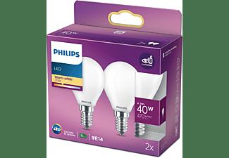 PHILIPS LEDclassic Lampe ersetzt 40W LED Lampe E14 warmweiß 5 Watt 470 Lumen