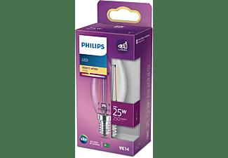 PHILIPS LEDclassic B35 2W ersetzt 25 W LED Lampe E14 warmweiß 2 Watt 250 Lumen