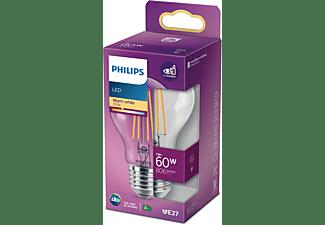 PHILIPS LED Lampe E27 ersetzt 60W LED Lampe E27 warmweiß 7 Watt 806 Lumen