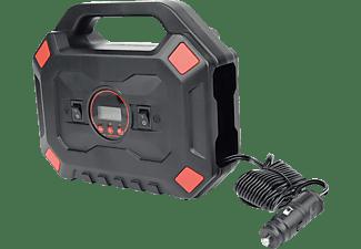 MANNESMANN 01792 12 V Kompakt Kompressor, Schwarz/Rot