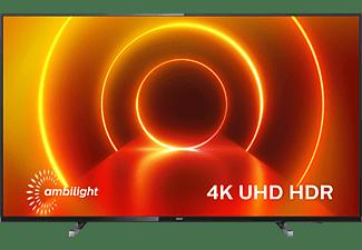 PHILIPS 50PUS7805/12 LED TV (Flat, 50 Zoll / 126 cm, UHD 4K, SMART TV, Ambilight, Saphi Smart TV)