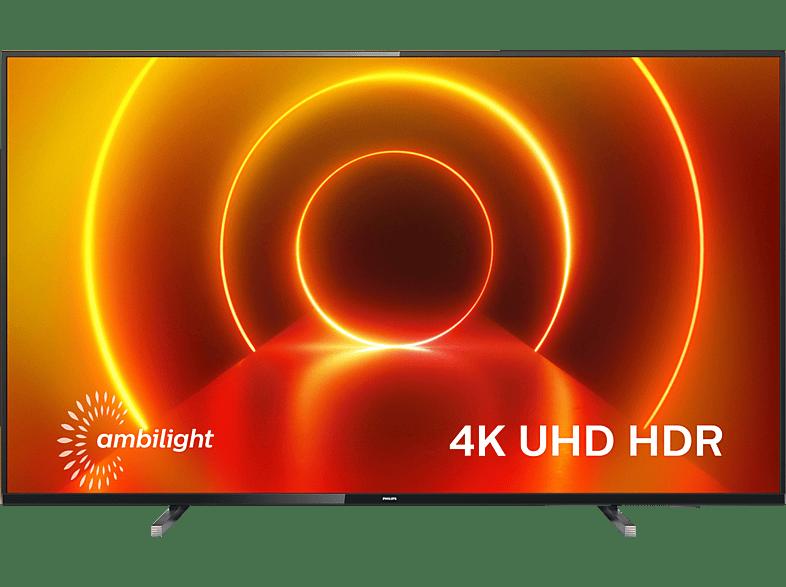 Philips 55PUS7805/12 LED TV (Flat, 55 Zoll / 139 cm, UHD 4K, SMART TV, Ambilight, Saphi Smart TV)