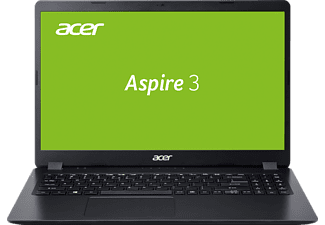 ACER Aspire 3 (A315-56-37QB), Notebook mit 15,6 Zoll Display, Core i3 Prozessor, 8 GB RAM, 512 GB SSD, Intel UHD Grafik, Schwarz
