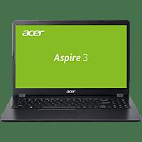 ACER Aspire 3 (A315-56-37QB), Notebook mit 15,6 Zoll Display, Intel® Core™ i3 Prozessor, 8 GB RAM, 512 GB SSD, Intel UHD Grafik, Schwarz