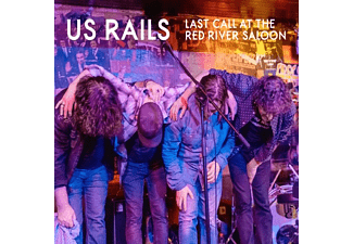 Us Rails - Last Call At River Saloon  - (CD)