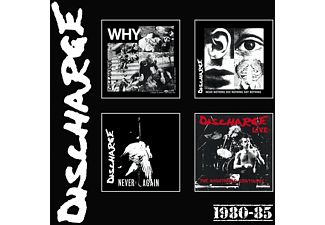 Discharge - 1980-85: 4CD Clamshell Boxset  - (CD)