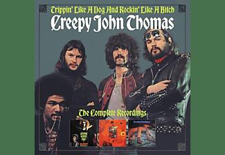 Creepy John Thomas - TRIPPIN' LIKE A DOG AND ROCKIN' LIKE A BITCH - THE  - (CD)