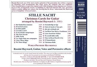 Rossini Hayward - STILLE NACHT - CHRISTMAS CAROLS FOR GUITAR  - (CD)