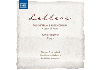 Paul/Chamber Choir Ireland/Irish Ch.Orch. Hillier - LETTERS  - (CD)