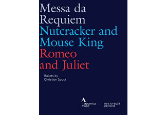 Luisi/Connelly/Jurowski/Ballett Zürich/+ - MESSA DA REQUIEM - NUTCRACKER AND MOUSE KING - ROM  - (Blu-ray)