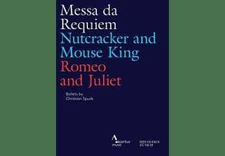 Luisi/Connelly/Jurowski/Ballett Zürich/+ - MESSA DA REQUIEM - NUTCRACKER AND MOUSE KING - ROM  - (DVD)