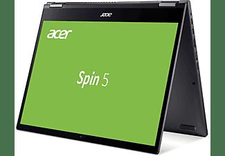 ACER Spin 5 (SP513-54N-769D), Convertible mit 13,5 Zoll Display, Core i7 Prozessor, 16 GB RAM, 1 TB SSD, Intel Iris Plus Grafik, Steel Gray