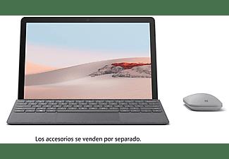"Convertible 2 en 1 - Microsoft Surface Go 2, 10.5"", Intel® Pentium® Gold 4415Y, 4 GB RAM, 64 GB, W10, Plata"