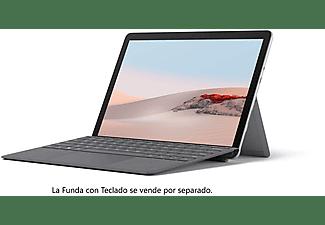 "Convertible 2 en 1 - Microsoft Surface Go 2, 10.5"", Intel® Pentium® Gold 4415Y, 8 GB RAM, 128 GB, W10, Plata"