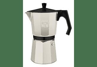 Cafetera tradicional - Cecotec Cumbia Mimoka 300, 3 Tazas, 150 ml, Aluminio, Beige