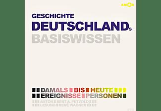 René Wagner - Geschichte Deutschlands-Basiswissen  - (CD)