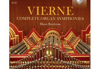 Hayo Boerema - VIERNE: COMPLETE ORGAN SYMPHONIES  - (CD)