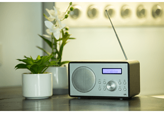 OK. ORW 240-B-BT Radio, FM, Bluetooth, Schwarz