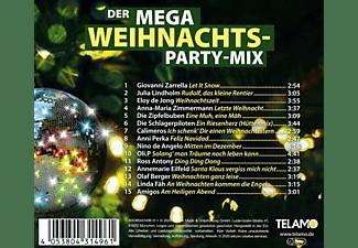 VARIOUS - Der Mega Weihnachts Party-Mix  - (CD)